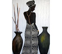 African Painting #1