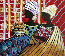 African Painting #6