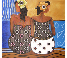 African Painting #8