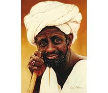 Portrait #6 Beduino
