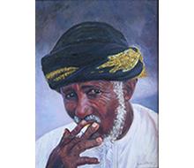 Portrait #7 O Fumador