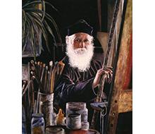 Portrait #9 Monje Pintor