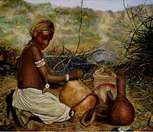 Portrait #16 Niña africana