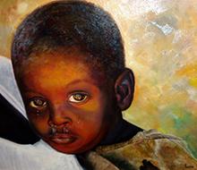 Portrait #18 Niño llorando